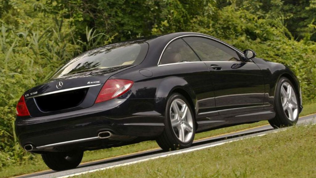 Аренда Mercedes-benz cl550 amg