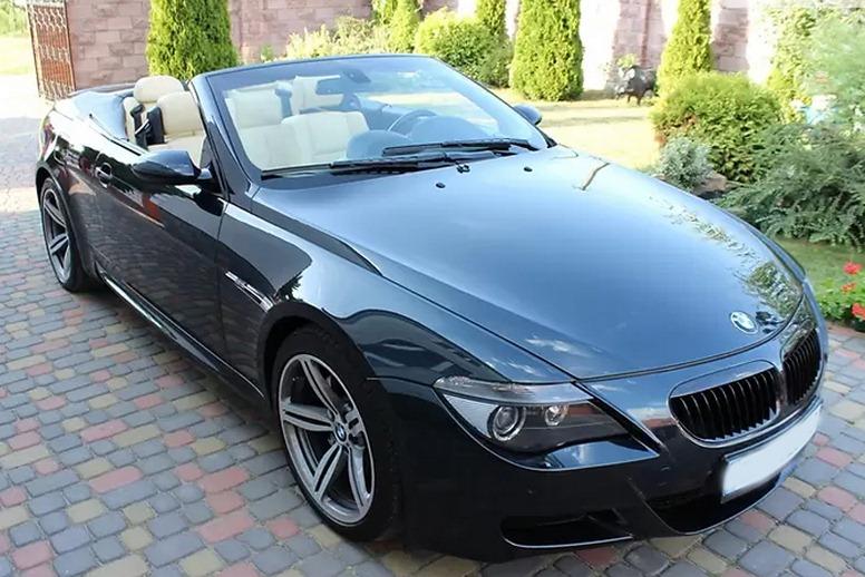 Аренда BMW 650i киев
