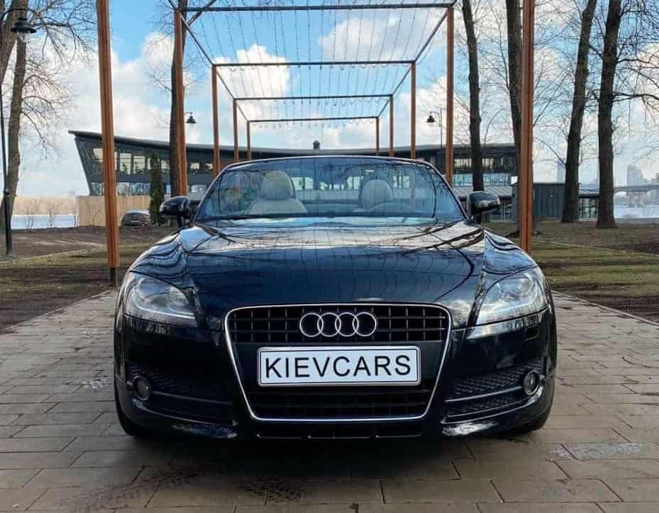 Аренда Audi TT кабриолет в Киеве