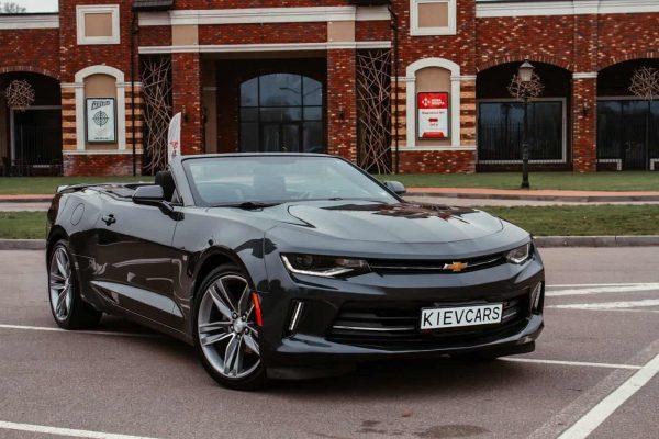 Кабриолет Chevrolet Camaro напрокат киев