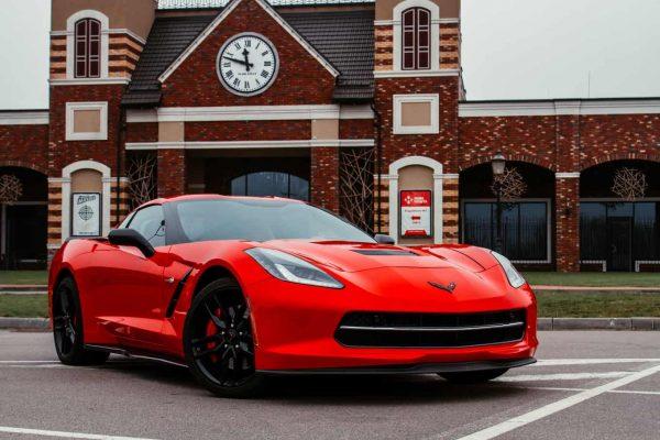 Прокат Chevrolet Corvette киев