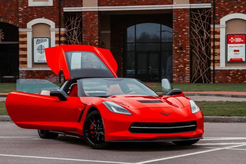 Аренда Chevrolet Corvette киев